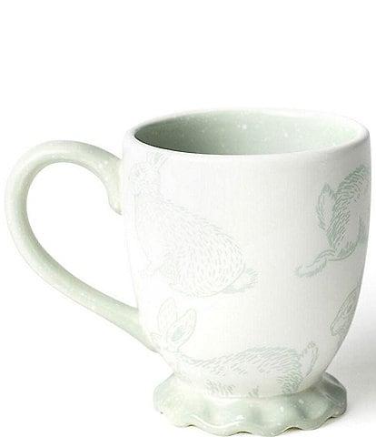 Coton Colors Speckled Rabbit Ruffle Mug
