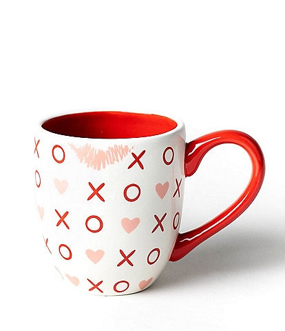 Coton Colors Valentine's Collection Hugs And Kisses Coffee Mug