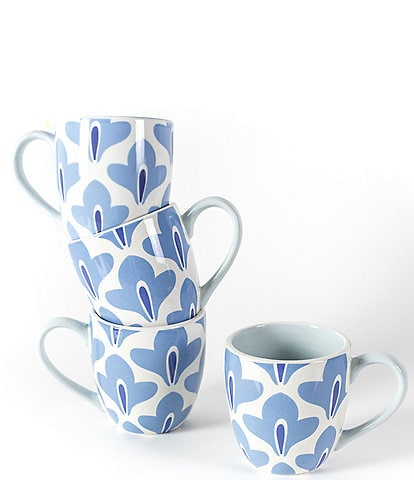Coton Colors Wedgewood Sprout Mug Set of 4