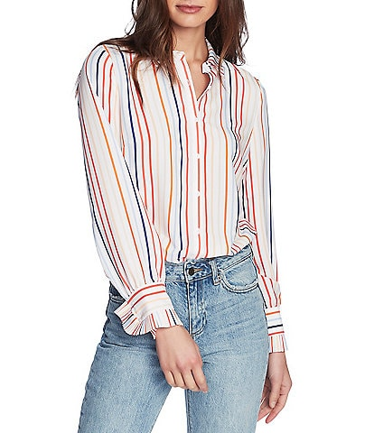 Women Striped Off Shoulder Half Sleeve Blouse Fashion Casual Summer Waist Tie Tee Shirts Tops On Sale Clearance