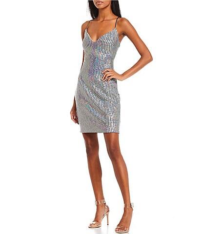 Coya Collection Sleeveless Lace-Up Back Dress