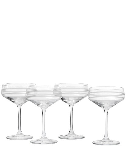 Crafthouse by Fortessa 4-Piece Tritan® Coupe Glass Set