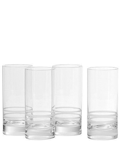 Crafthouse by Fortessa 4-Piece Tritan® Iceberg Collins Glass Set
