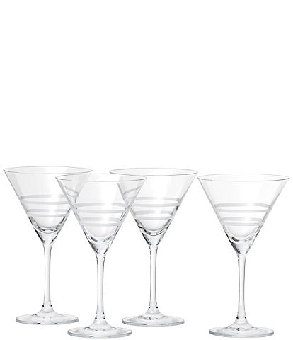 Crafthouse by Fortessa 4-Piece Tritan® Martini Glass Set