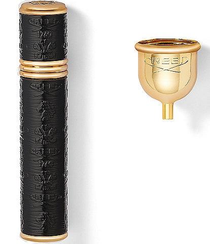 CREED Black with Gold Trim Pocket Atomizer