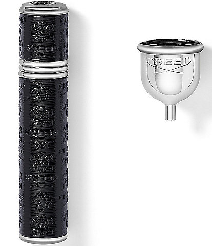 CREED Black with Silver Trim Pocket Atomizer