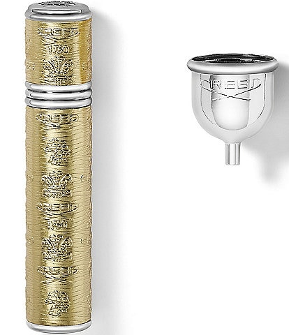 CREED Gold with Silver Trim Pocket Atomizer