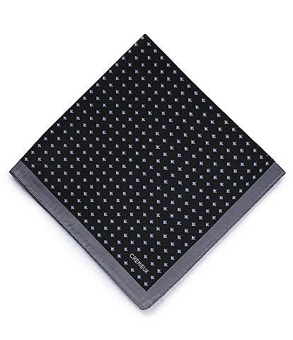 Cremieux 4-Square Woven Silk Pocket Square