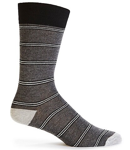 Cremieux Basic Stripe Crew Socks