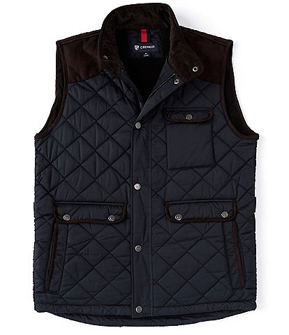 Cremieux Big & Tall Quilted Ethan Vest
