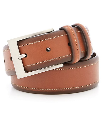 Cremieux Burnished Leather Belt