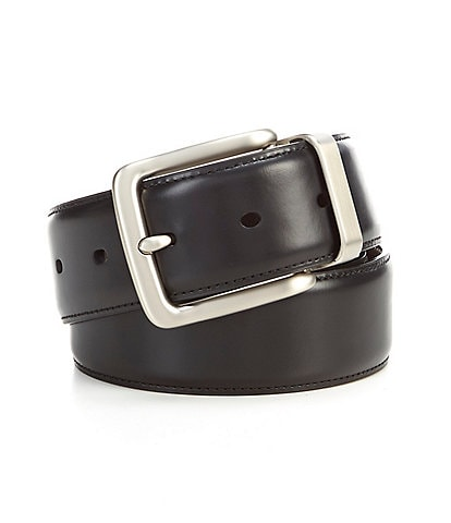 Cremieux Casual Clean Buckle Reversible Leather Belt