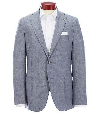 Cremieux Chambray Stretch Freetime Blazer