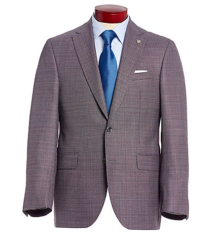 Cremieux Classic Fit Multi-Colored Neat Wool Sportcoat