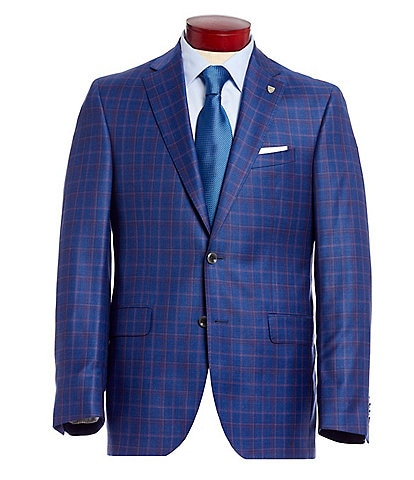Cremieux Classic Fit Plaid Wool Sportcoat