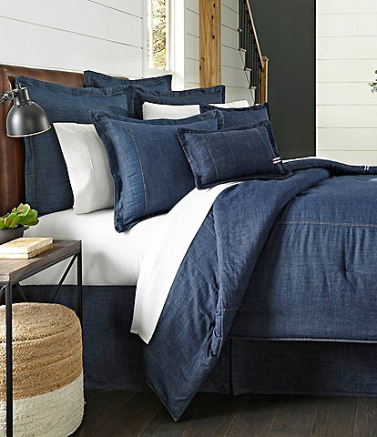 Cremieux Cotton Denim Duvet