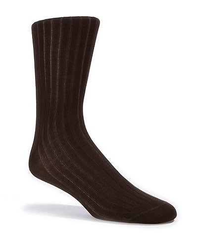 Cremieux Cotton Rib Dress Socks