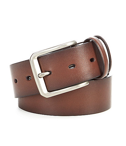 Cremieux Dark Keepers Casual Leather Belt