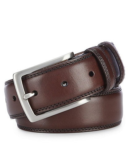Cremieux Double Loop Edge Stitch Belt