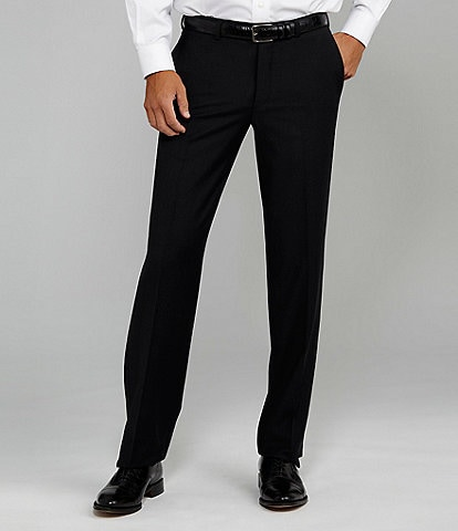 Cremieux Flat-Front Modern Fit Travel Smart Dress Pants