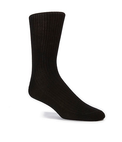 Cremieux Flat Knit Crew Dress Socks