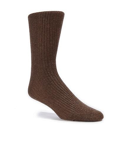 Cremieux Flat Knit Crew Dress Socks
