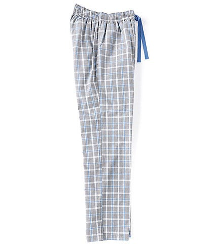 Cremieux Grey Plaid Woven Pajama Pants