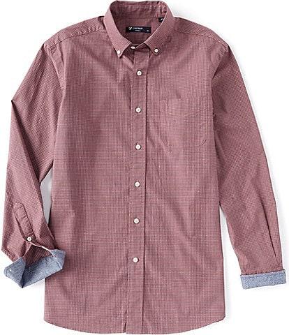 Cremieux Jaspe Check Long-Sleeve Woven Shirt