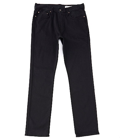 Cremieux Jeans Big & Tall Black Straight-Fit Stretch Denim Jeans