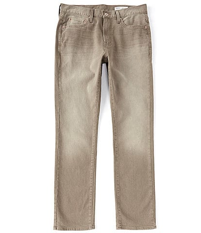 Cremieux Jeans Big & Tall Straight-Fit Dark Khaki Stretch Denim Jeans