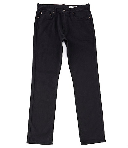 Cremieux Jeans Black Straight-Fit Stretch Denim Jeans