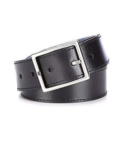 Cremieux Jeans Center Bar Bridle Reversible Belt