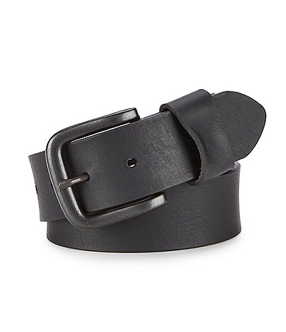 Cremieux Jeans Cut Edge with Wide Loop Leather Belt
