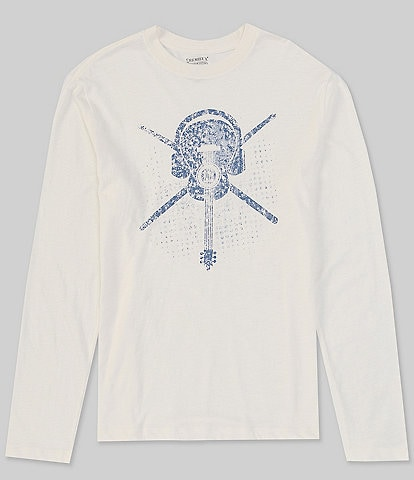 Cremieux Jeans Overdub Long-Sleeve Graphic Tee