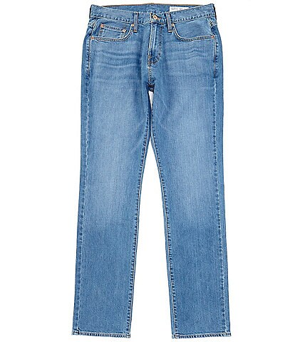 Cremieux Jeans Relaxed Straight Fit Light Wash Stretch Jeans