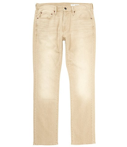 Cremieux Jeans Slim-Fit Khaki Stretch Denim Jeans