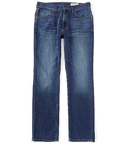 Cremieux Jeans Straight-Fit Medium Blue Wash Comfort Stretch Jeans