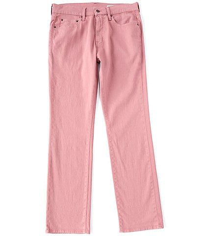 Cremieux Jeans Straight-Fit Rose Stretch Jeans