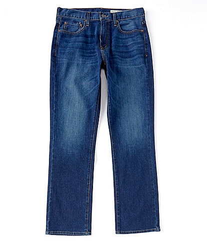 Cremieux Jeans Straight-Fit Stretch Jeans with COOLMAX®