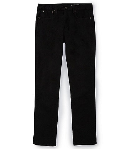 Cremieux Jeans Black Straight-Fit Stretch Jeans