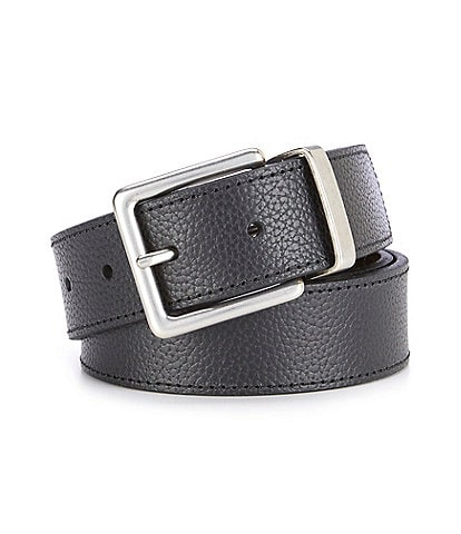 Cremieux Jeans Tobacco Reversible Leather Belt