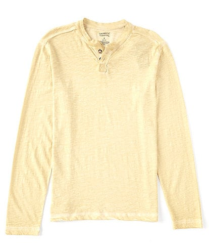 Cremieux Jeans Washed Long-Sleeve Henley