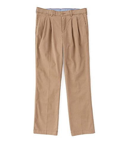 Cremieux Madison-Fit Pleated Twill Chino Casual Pants