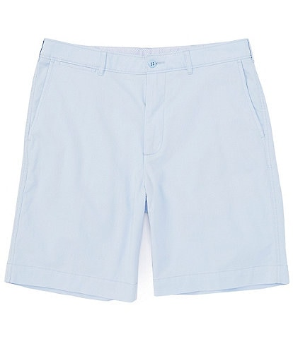 Cremieux Madison Flat-Front Comfort Stretch 9#double; Inseam Shorts