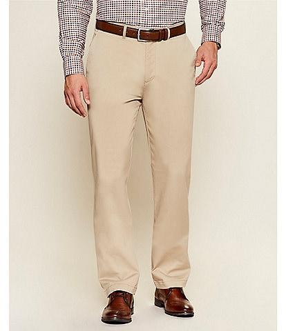 Cremieux Madison Flat-Front Comfort Stretch Twill Chino Pants