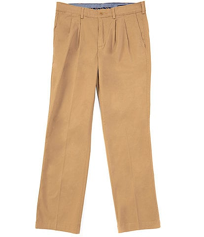 Cremieux Madison Pleated-Front Comfort Stretch Twill Chino Pants