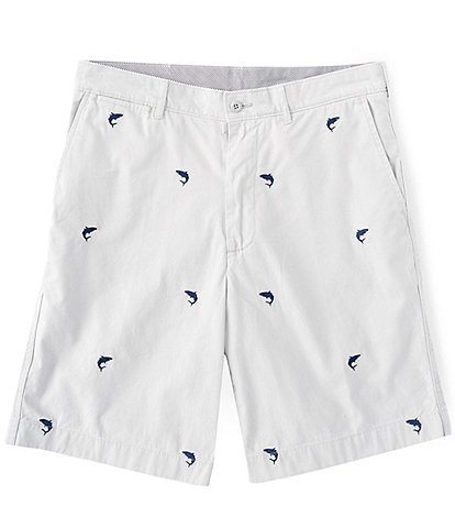 Cremieux Madison Shark Critter 9#double; Inseam Shorts