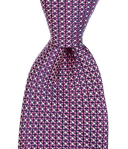 Cremieux Mateo Micro Traditional 3 1/4#double; Silk Tie