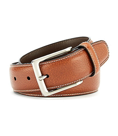 Cremieux Pebble Contrast Stitch Belt
