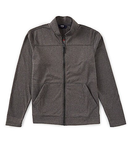 Cremieux Performance Long-Sleeve Fleece Bomber Jacket